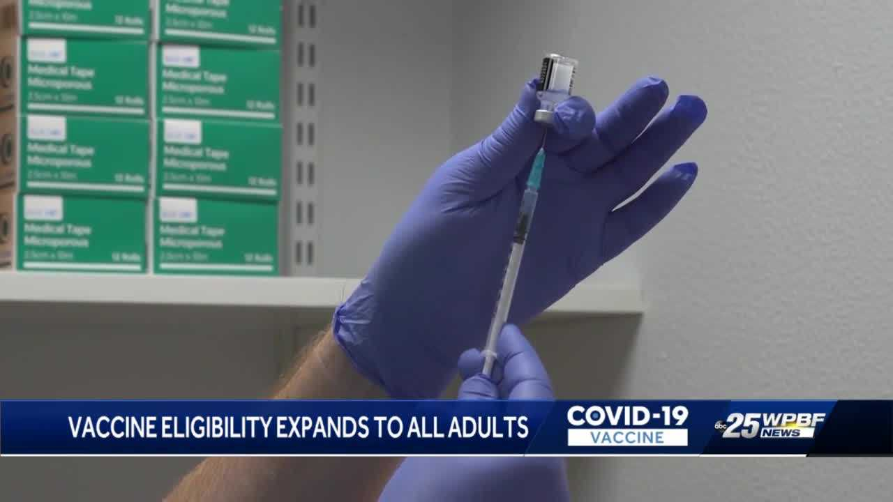 Health Care District vaccine appointments open for everyone 16 and up