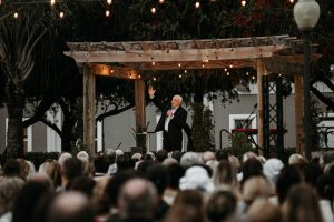 Former President Donald Trump attends Easter service at Palm Beach Gardens church