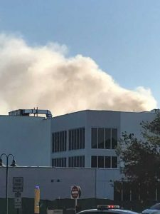 Firefighters extinguish fire on FAU's Jupiter campus
