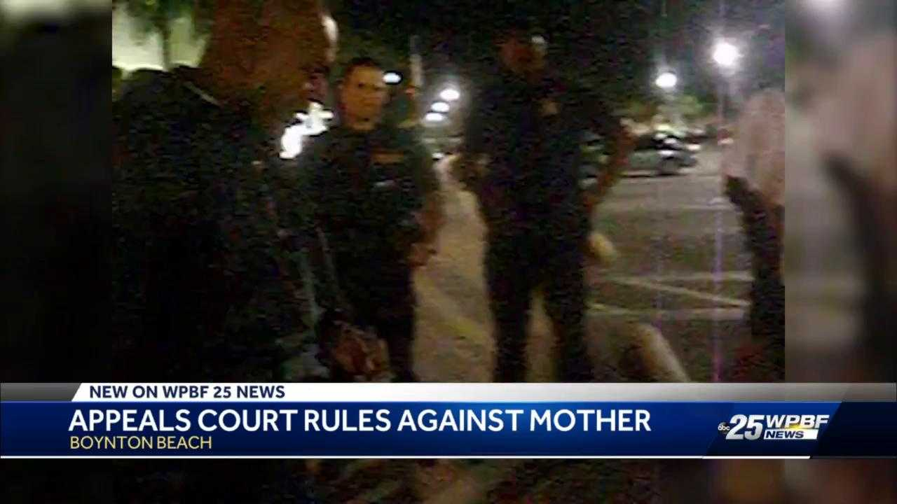 ACLU backing local mother arrested while filming Boynton Beach police