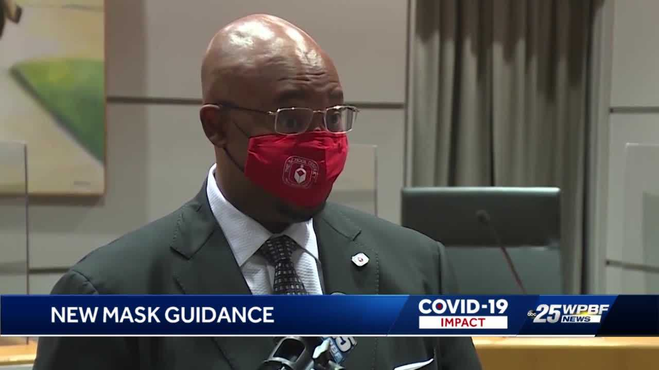 Palm Beach County residents react to new CDC mask guidance
