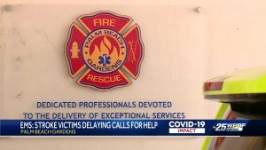 EMS report shows stroke patients are delaying calls to 911
