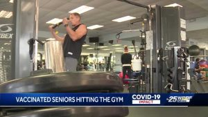 COVID-19 vaccine getting seniors back in the gym