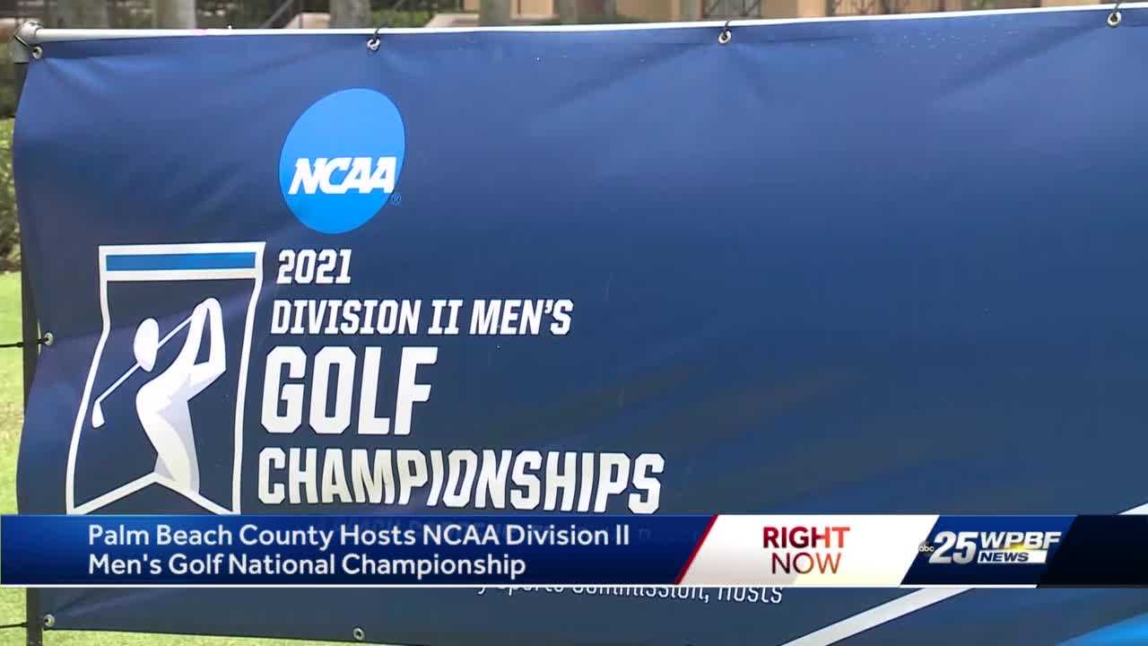 Palm Beach County hosts NCAA Division II Men's Golf National Championship