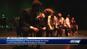 Dreyfoos School of the Arts students back on stage
