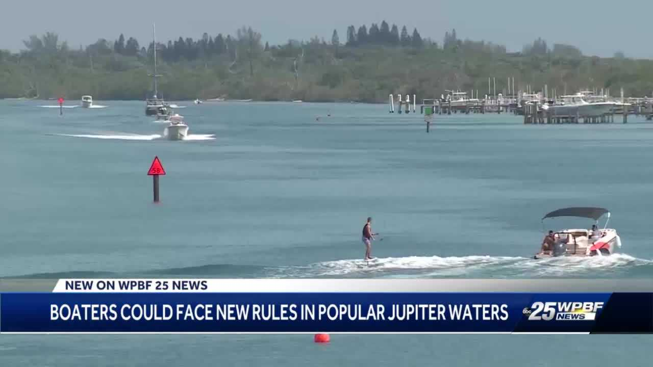 Boaters in Jupiter may soon see extended slow wake zone