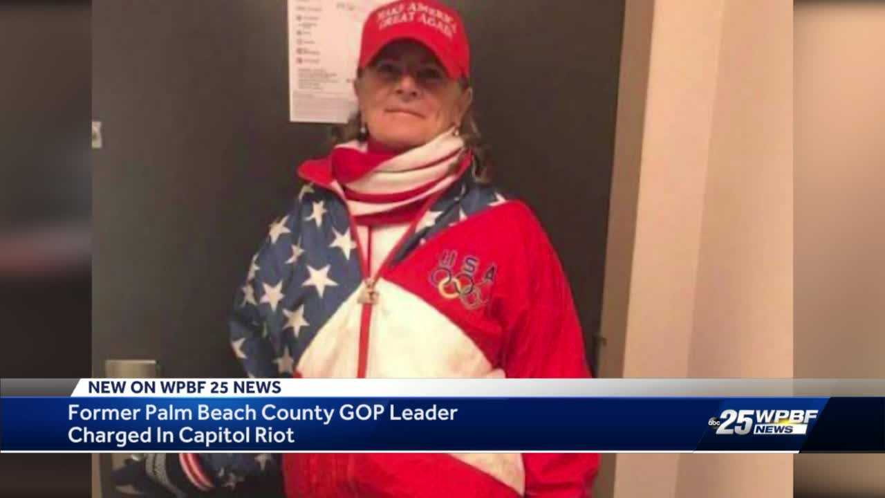 Former Palm Beach County Commission candidate charged in connection to Capitol riots