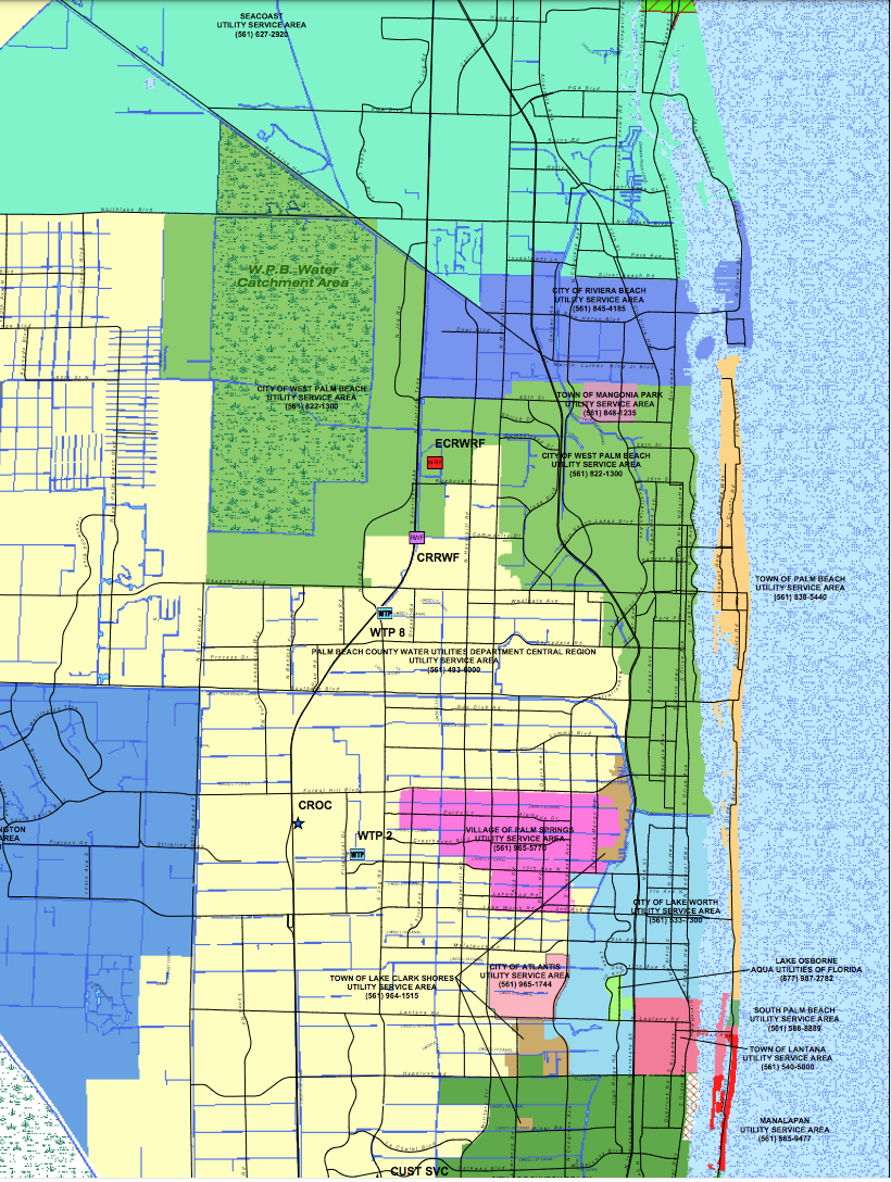 Drinking water advisory in West Palm Beach