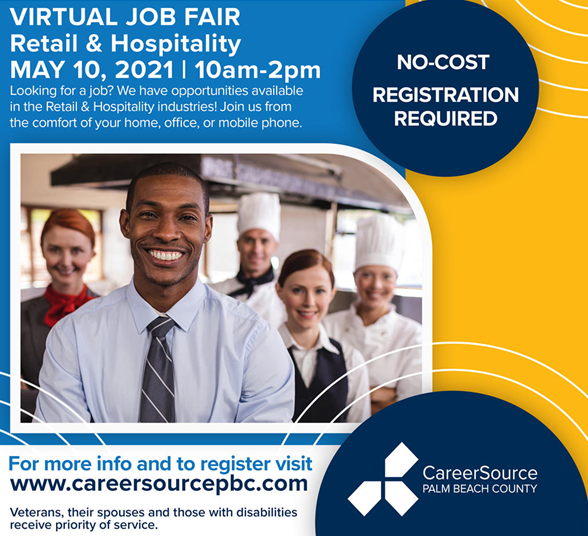 Virtual job fair for hospitality and retail businesses to be held Monday