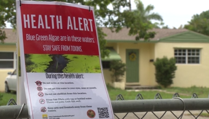 Environmentalists critical of extent of toxic algae health advisory