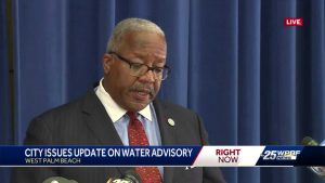 Parts of Palm Beach County water advisory continues; DEP continues testing water