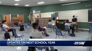 Palm Beach County Public School Board and parents discuss reopening plan