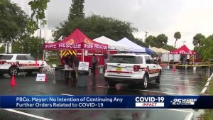 Palm Beach County mayor announces 'no present intention' on giving any new COVID-19 emergency orders