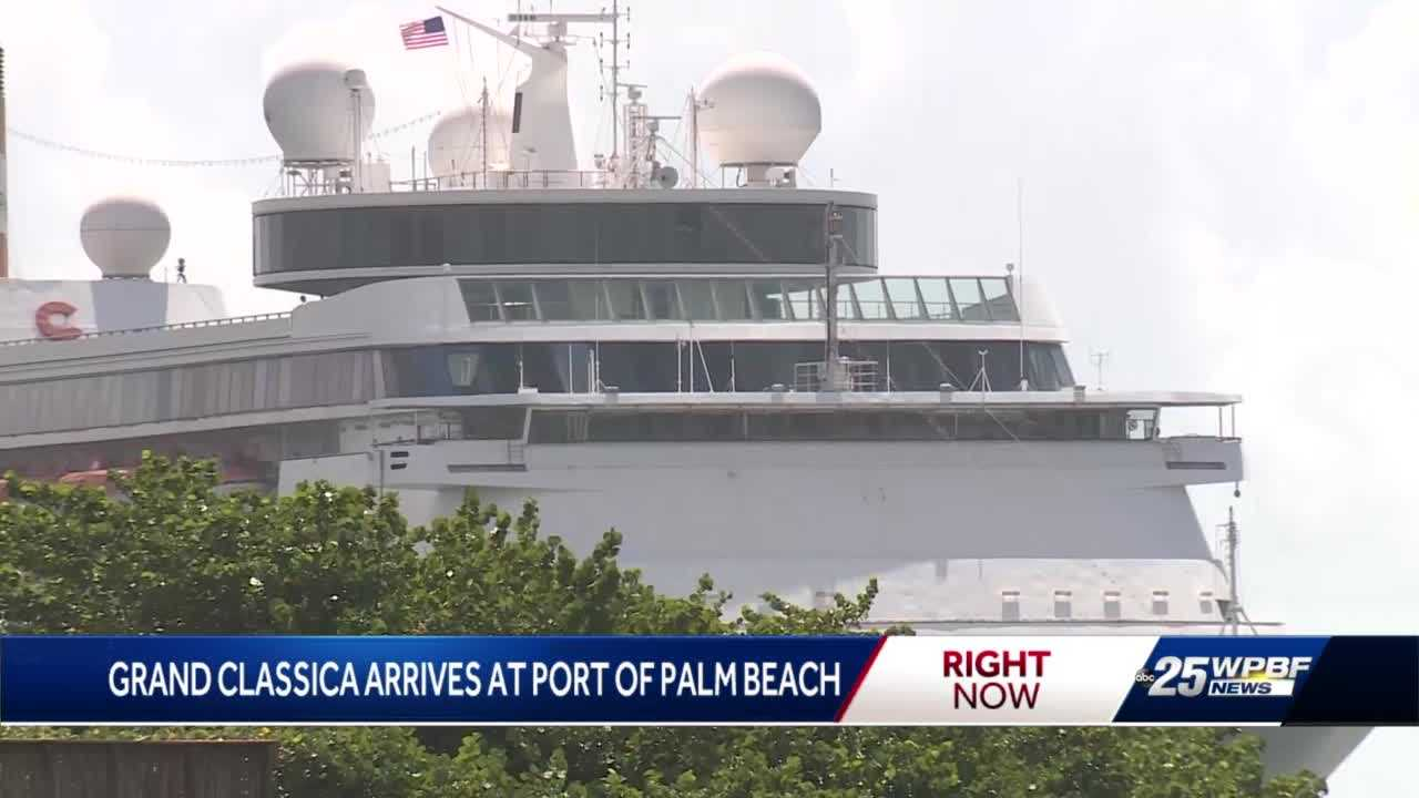 Cruising back in business at the Port of Palm Beach