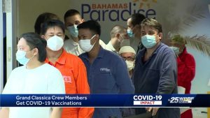 Cruise ship crew says 'We've been waiting for this day'