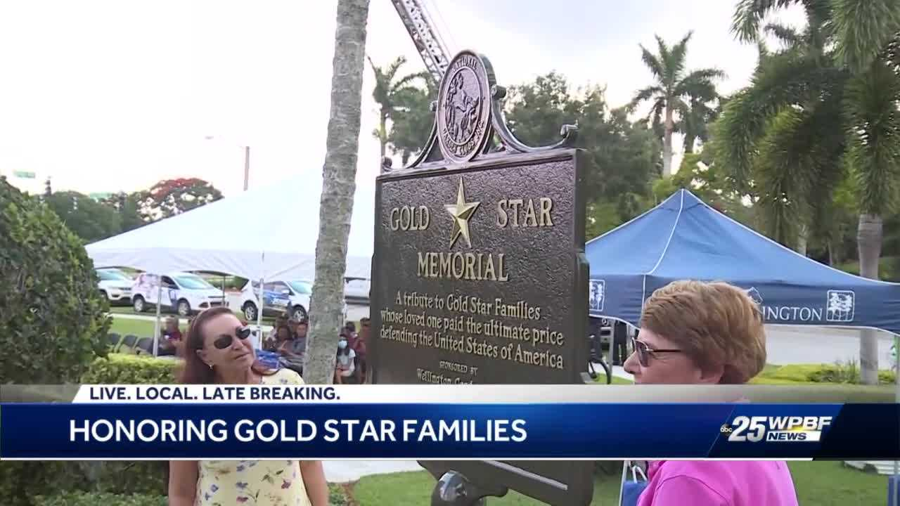 Gold Star families remember loved ones at Memorial Day ceremony in Wellington