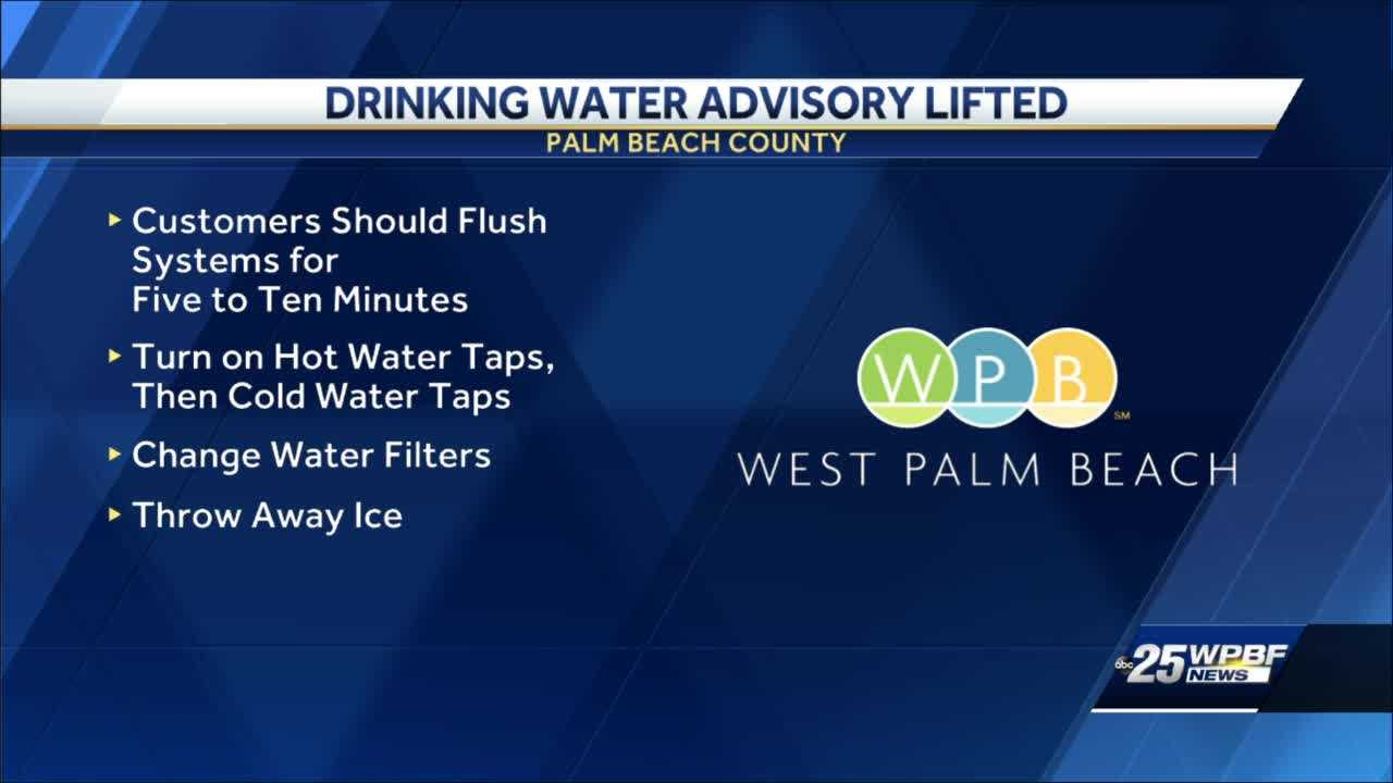 Drinking water safe to consume in Palm Beach County