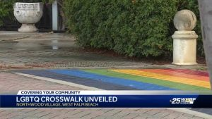 LGBTQ crosswalks unveiled in West Palm Beach