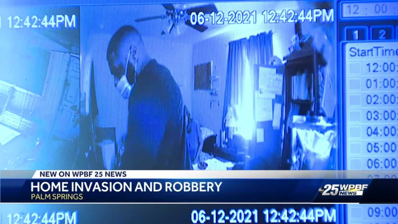 Police searching for suspects in Palm Springs armed home invasion