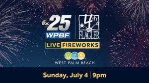 WATCH LIVE: Fourth on Flagler Fireworks