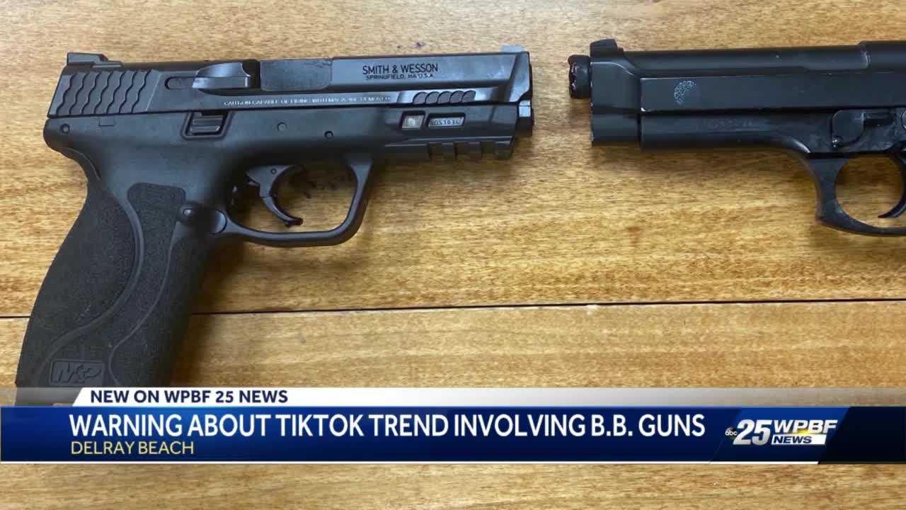 Delray Beach warns against TikTok trend with BB guns