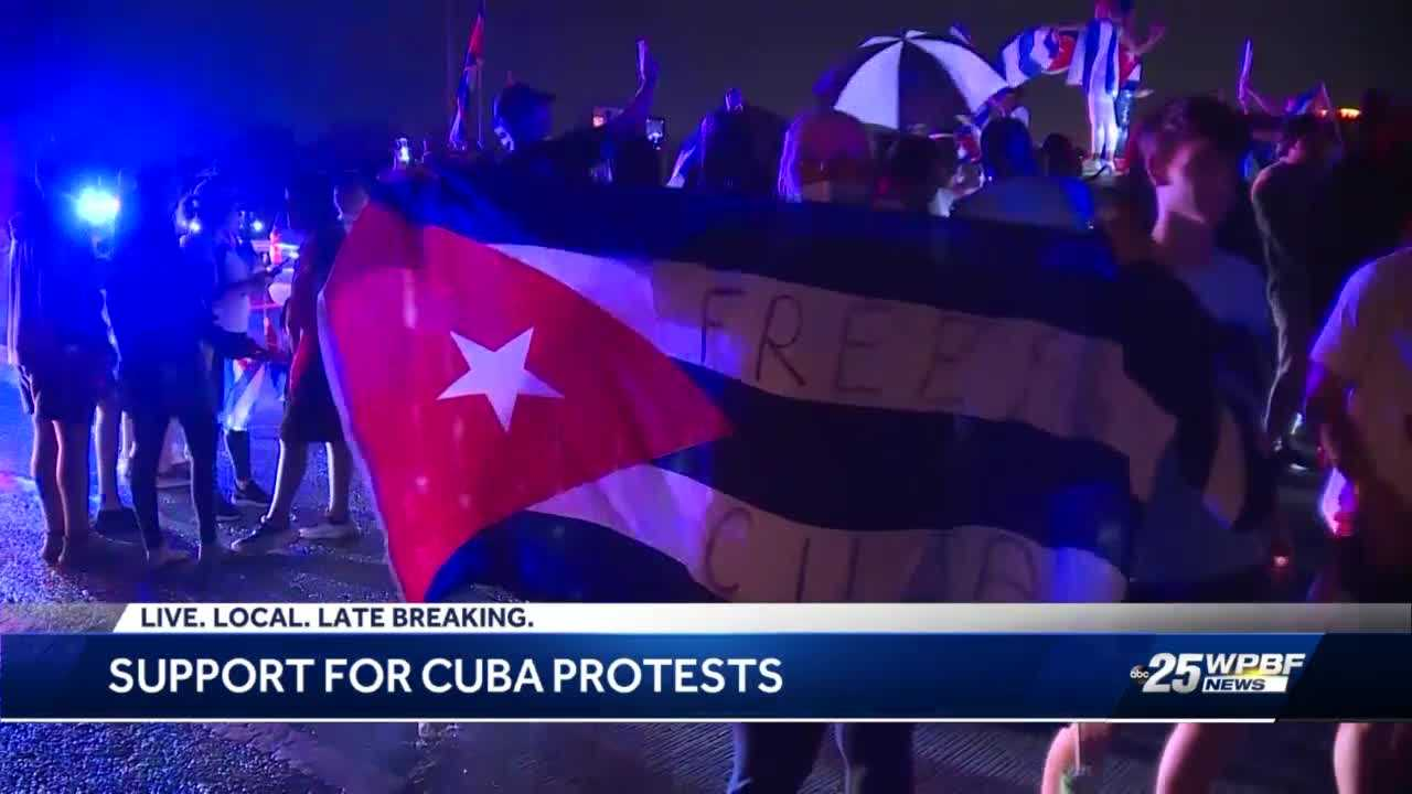 Palm Beach County elected officials set to come together in solidarity for people of Cuba