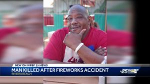 Man who died in fireworks incident was a great dad