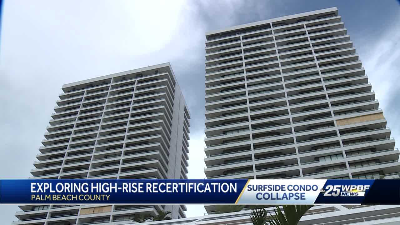 Palm Beach County officials looking into building recertification process