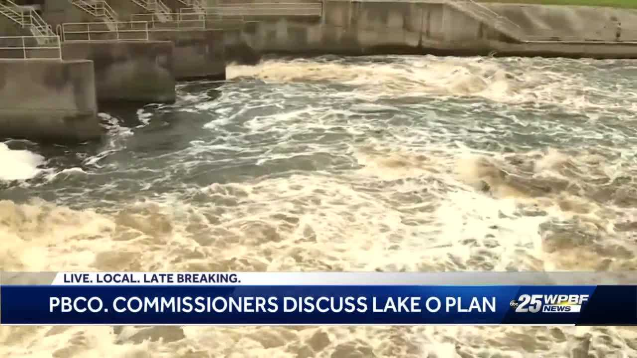 Army Corps presents Lake Okeechobee preliminary plan to Palm Beach County Commissioners