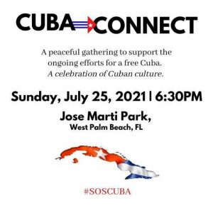 gives people chance to pray for a free Cuba