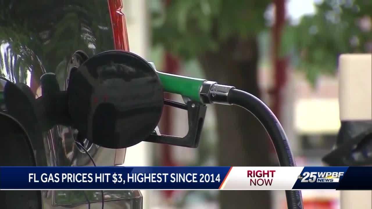 Florida gas prices go up