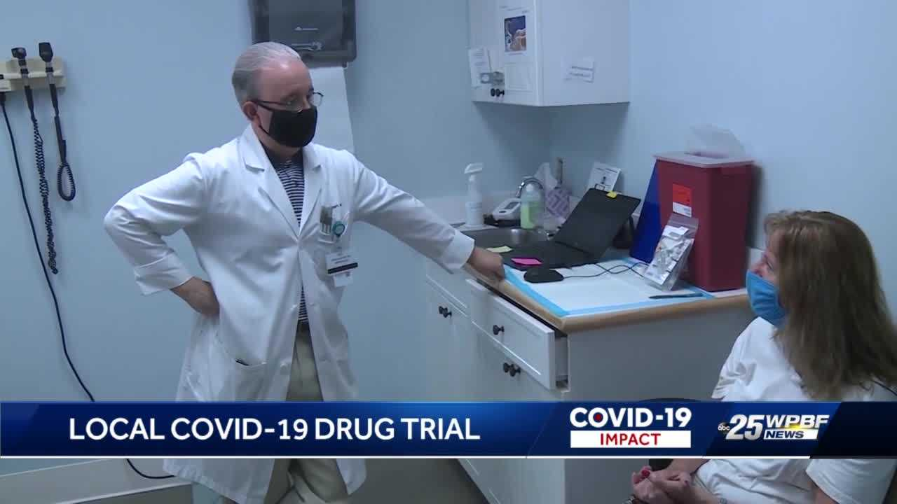 New COVID-19 clinical trial strictly for the sick — who are unvaccinated — is underway in Palm Beach County