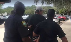 Man arrested for resisting at Palm Beach County school board meeting