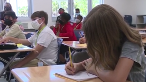 State withholding salaries of school boards in two counties