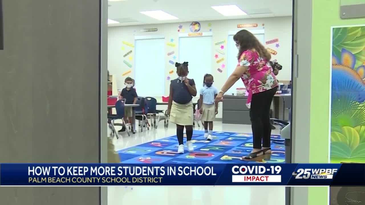 District working on ways to keep healthy students in the classroom