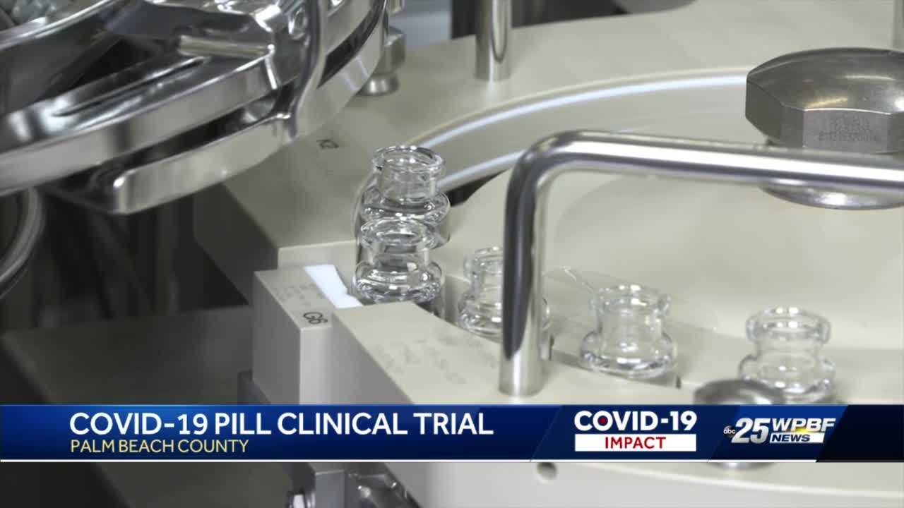 Clinical trials underway for oral COVID-19 medication