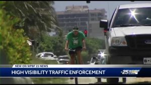 Delray Beach police educate the public on bicycle laws and safety